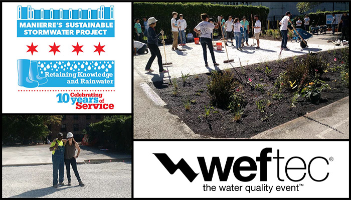 Retaining Knowledge and Rainwater at WEFTEC » Donohue